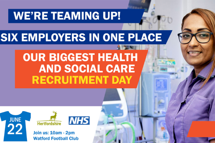 Biggest joint health and social care recruitment day for