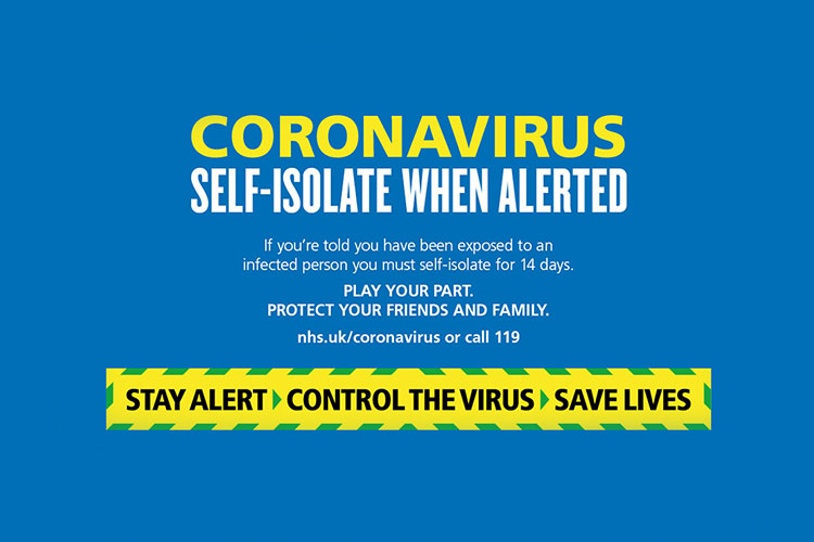 For the latest guidance on coronavirus, including Test and Trace, please  visit www.nhs.uk/coronavirus and www.gov.uk/coronavirus | A Healthier Future