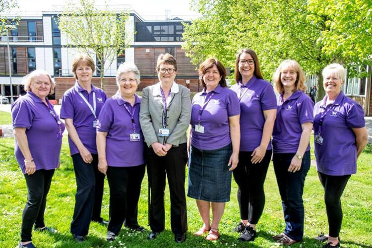 East and North Hertfordshire NHS Trust's Butterfly volunteers team