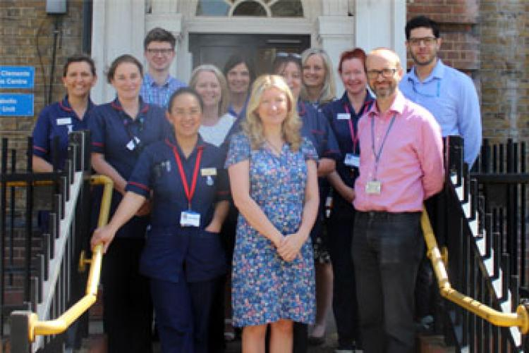 The diabetes team from West Hertfordshire Hospitals NHS Trust and the mental health team from Hertfordshire Partnership University NHS Foundation Trust