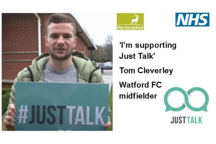 It's time to Just Talk about mental health in Hertfordshire